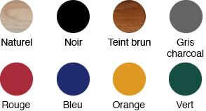 Différentes couleurs de bâtons